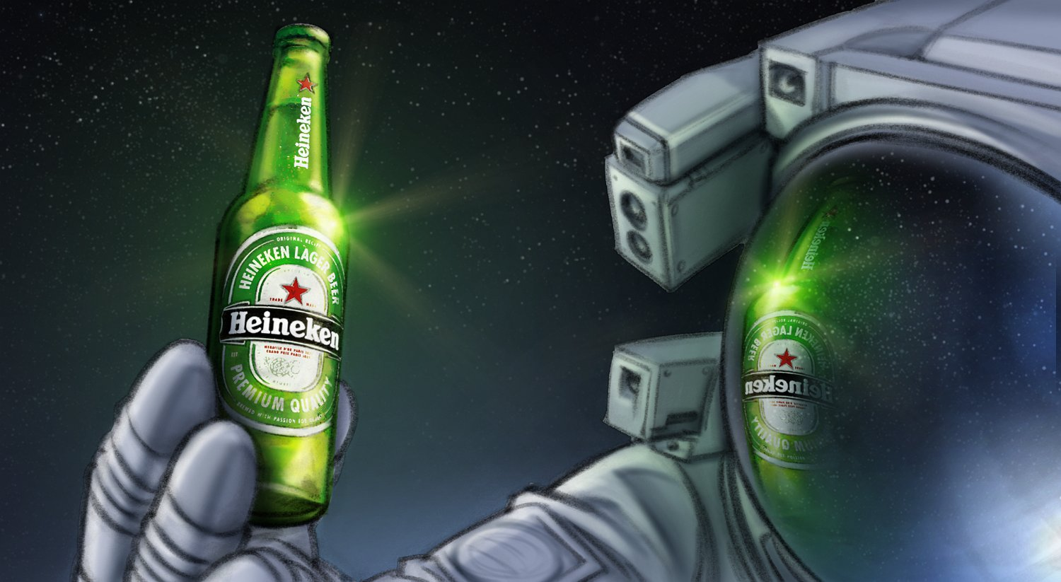 Heineken Space Nature's Wonder (TBWA)