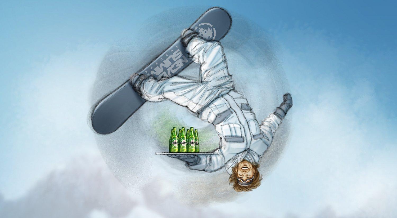 Heineken print (DDB)
